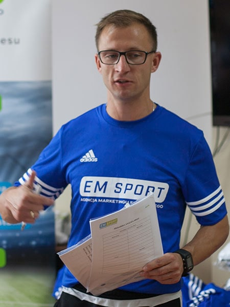 Michał Wirkus - trener obozy piłkarskie