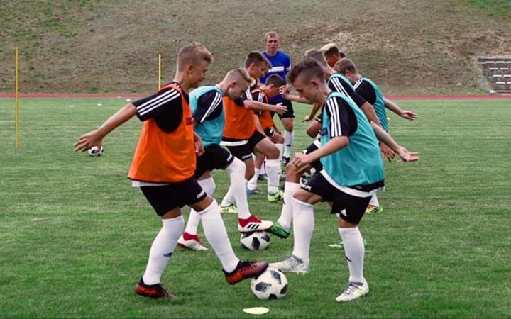 Wideo obóz piłkarski Skorzewo