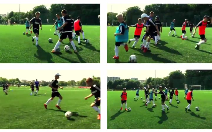 Wideo obóz piłkarski Ukraina Ivanofrankivsk